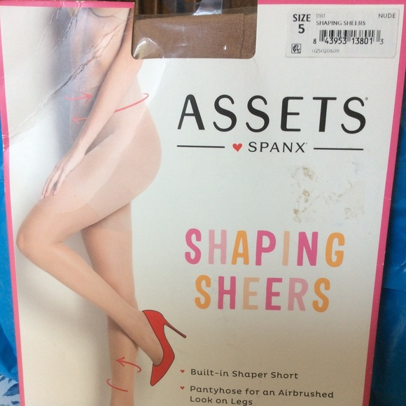 93689d2f713 NEW ASSETS BY SPANX SHAPING SHEERS SIZE 5 BARE